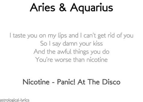 aries aquarius astrology pinterest