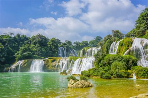 natural boat cleaner cascade boat clean china natural rural photo free download