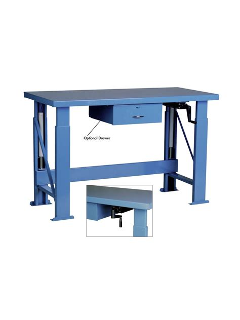 hydraulic work bench wood top electric ergonomic hydraulic work benches at