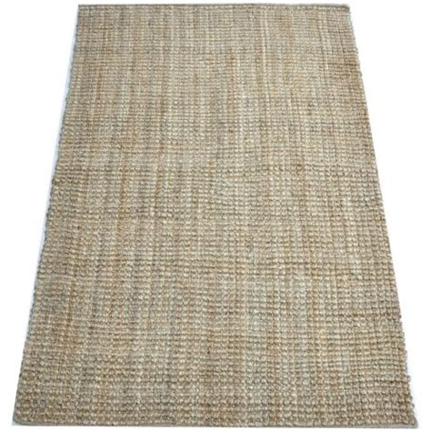 thick jute rug boculle thick jute rug 190x290cm jute sales