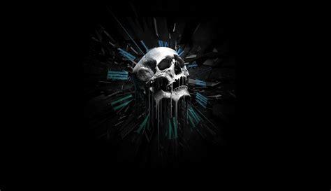 wallpaper hd black skull free 3d skull wallpapers wallpaper cave