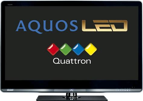 Regulator Tv Led Sharp Aquos the new sharp quattron aquos led televisions dalzell s