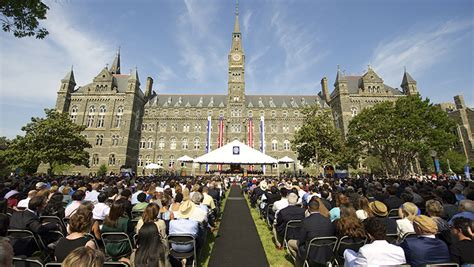Georgetown Mba Healthcare by Georgetown Announces Speakers For 2016 Commencement