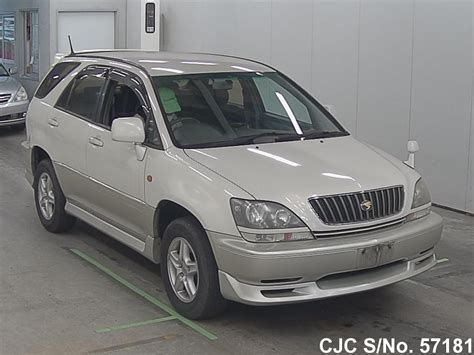 toyota harrier 2000 2000 toyota harrier pearl for sale stock no 57181