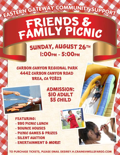 family flyer template affk wf friends and family picnic by springpolaris on