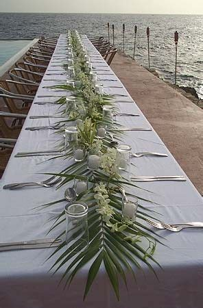 Beachy Table Ls by 46 Best Wedding Greenery Palms Images On
