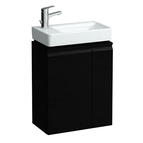 laufen pro 480mm vanity unit with left hinge door wenge