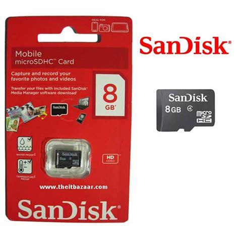 Micro Sd Card Sandisk 8gb sandisk micro sdhc memory card 8gb