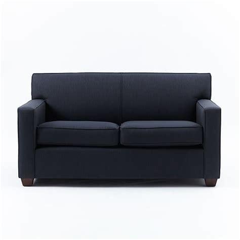 club sofa navy west elm