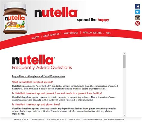 Proper Pronunciation Of Meme - nutella reveals correct way to pronounce brand s name and