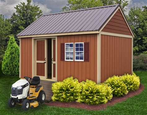 10x20 Shed For Sale by Brookhaven Shed Kit Wood Shed Kit By Best Barns