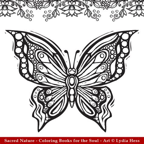 butterfly garden colouring book for adults books the coloring book trend reaches religion and