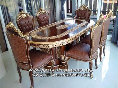 Meja Makan Jati Ganesha 50 daftar harga set kursi makan mewah terpopuler