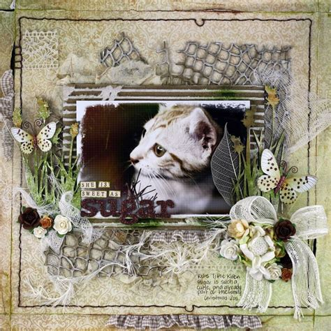 scrapbook layout cat cat scrapbook layout favorite scrapbook layouts pinterest
