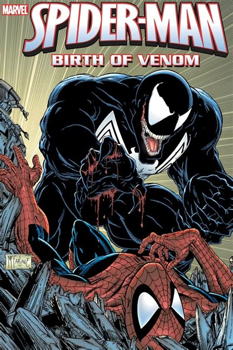 spider birth of venom 0 marvel