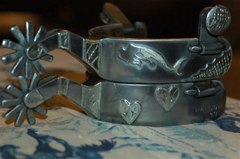 Handmade Spurs In - handmade cowboy spurs mermaid a cowboy s