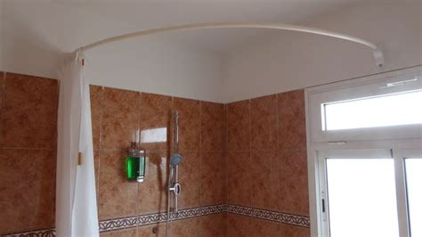 curved shower curtain rod for corner shower curved shower rod all