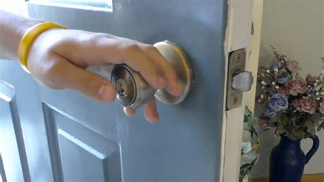 how to open locked bedroom door without key how to unlock a deadbolt door without key break open lock