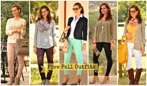 i feel pretty five favorite fall looks get your pretty on