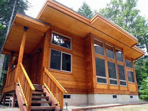 Cabin Kits In Washington State by The Timber Frame Construction Begins With A Well Thought