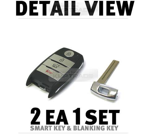 2014 Kia Forte Key Oem Keyless Panic Smart Key Remote Immobilizer Blank For