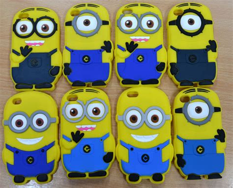 Minion 3d Iphone 4 4s despicable me minion 3d iphone 4 4s cover protector