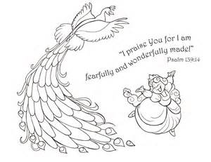 psalm 139 coloring page coloring pages