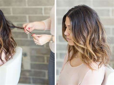 how to cut a lob how to style a lob or long bob photos