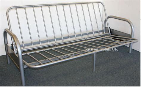 Ikea Metal Futon Frame by Metal Futon Sofabed Frame Silver Sofa Bed Futon