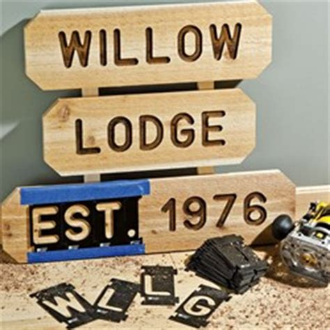 new rockler sign kits deliver professional lettering