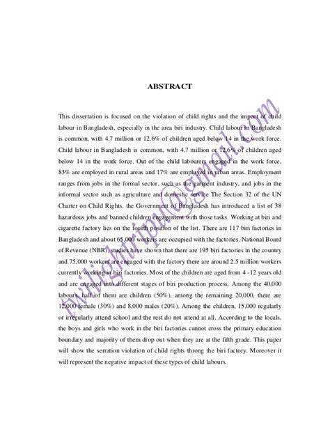 dissertation on child labour llm dissertation on child labour in india demaphyanu web