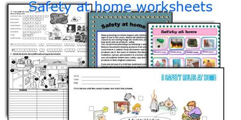 Home Safety Worksheets For by Related Keywords Suggestions For Home Safety Worksheets