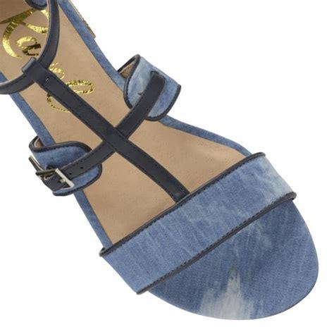 Flat Demin ravel ritzville flat denim sandals