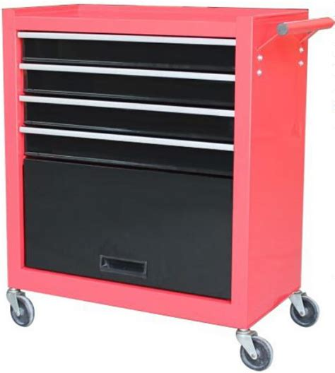 factory supply 4 drawers and 1 door roller tool cabinet