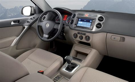 vw tiguan interior car and driver