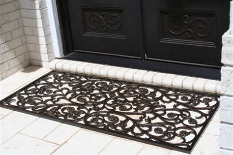 Metal Door Mat Bellflower Style