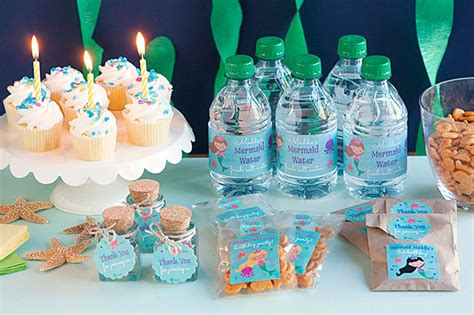Diy Home Decor Cheap by 3 Diy Mermaid Party Favor Ideas Gift Amp Favor Ideas From