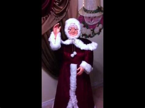 3 ft animatedmrsclaus animated mrs santa claus 5 ft