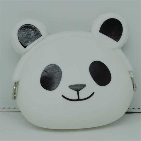 Dompet Panda dompet koin bentuk panda white jakartanotebook