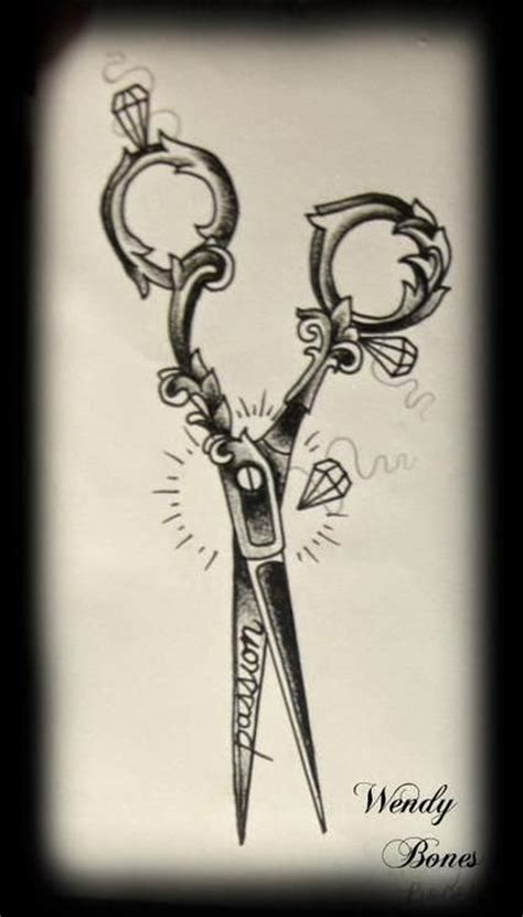 hair scissors tattoo designs ideas for hairdressers the haircut web