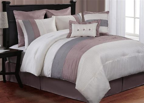 clearance 8pc luxury comforter set es pink clearance