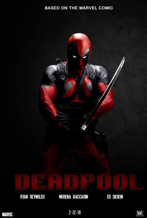deadpool poster deadpool 2016 dir tim miller sua fantasia vermelha