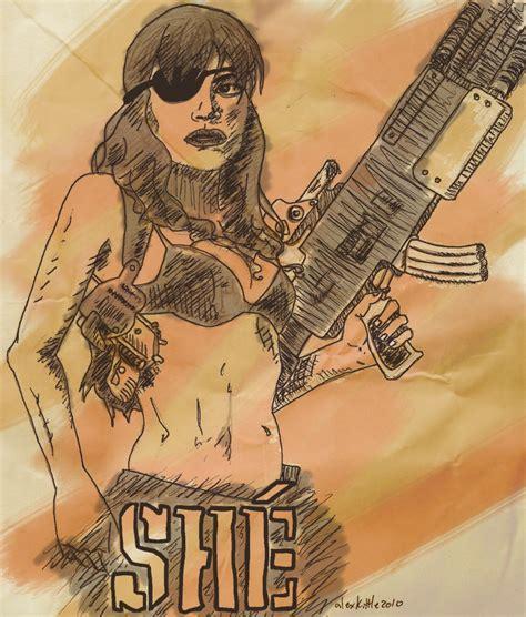 she machete she from machete by miracledrug on deviantart