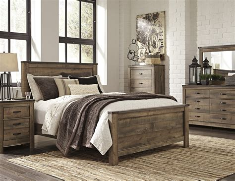 trinell  pc queen bedroom set steinhafels
