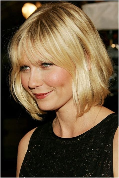 medium bob hairstyles away from face medium length bob hairstyle short haircuts for round face