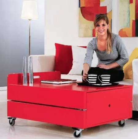 how to make a coffee table into an ottoman how to make a coffee table that converts into a bed
