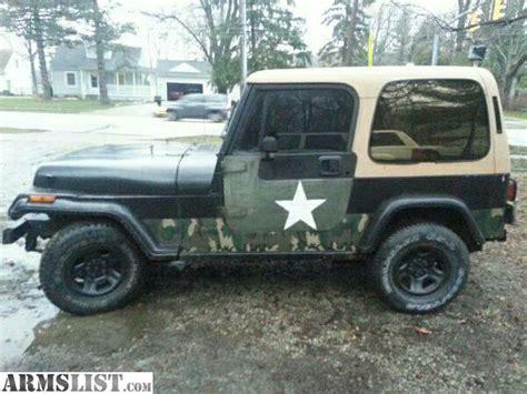 Jeep 93 Wrangler Armslist For Sale Trade 93 Jeep Wrangler Yj 4 0 Auto 4x4
