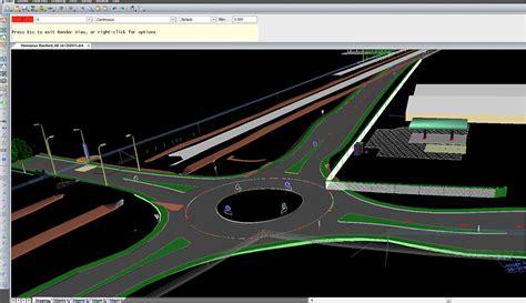 Civil Designer Roads Module Autocad Roundabout Templates