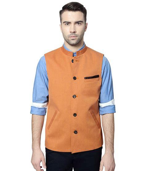 Peter England Gift Card - peter england orange party wear nehru jacket buy peter england orange party wear
