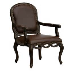 Leather Accent Chair Bedford Leather Arm Chair Accent Chairs At Hayneedle